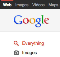 Google Black Bar Design