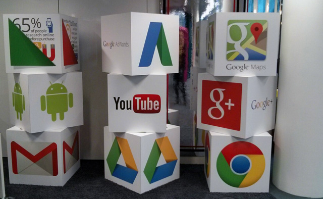 Large Google Blocks