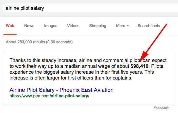 Google Bolding Answers In Search Results Without Query ...