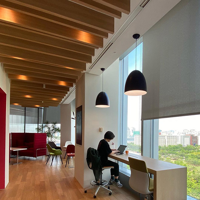 Google Boston Office Work View