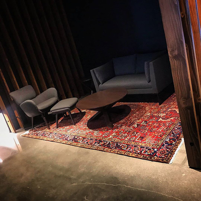 Google Boulder Office Got Persian Rugs
