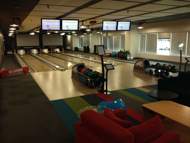 Google Bowling Alley
