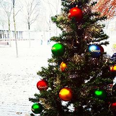 Google Christmas Tree Ornaments