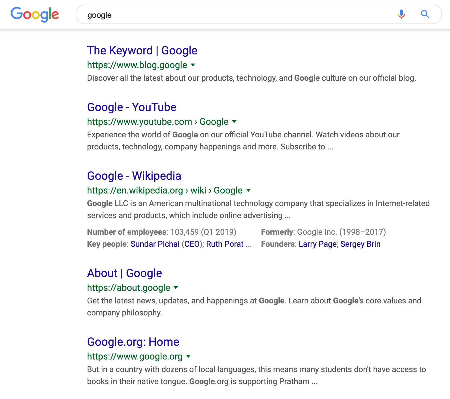 Google Dropping URLs For Breadcrumbs On Desktop Search