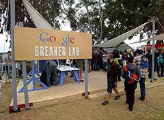 Google Breaker Lab : Maker Faire