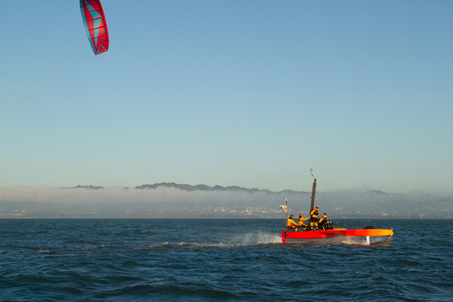 Google's Sergey Brin Goes Kiteboating