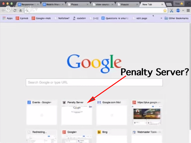 Google Penalty Server