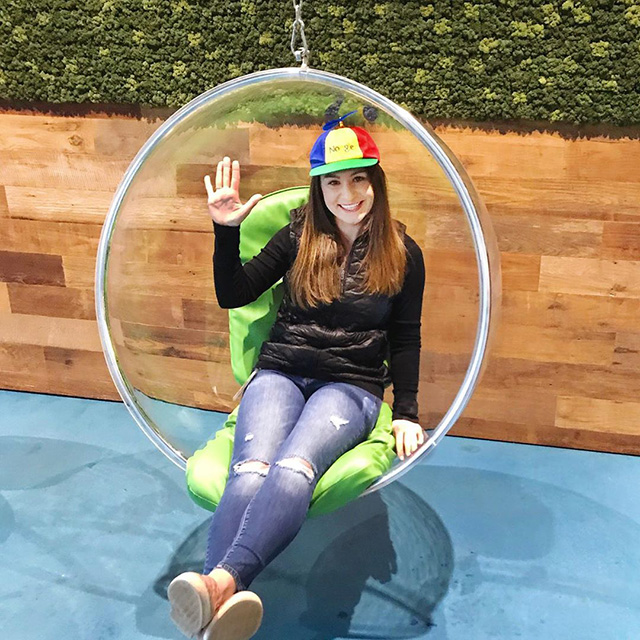 Google Bubble Chair