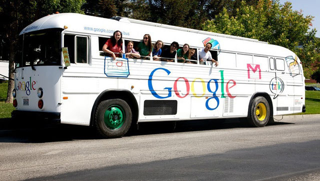 Google London Bus
