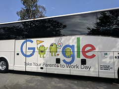 Google Bus: Take Your Parents To Work Day