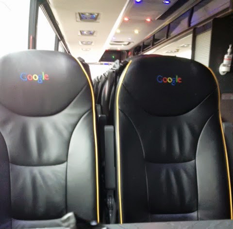Google Bus Seats