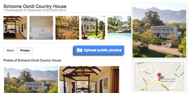 Google+ Maps Upload Photos