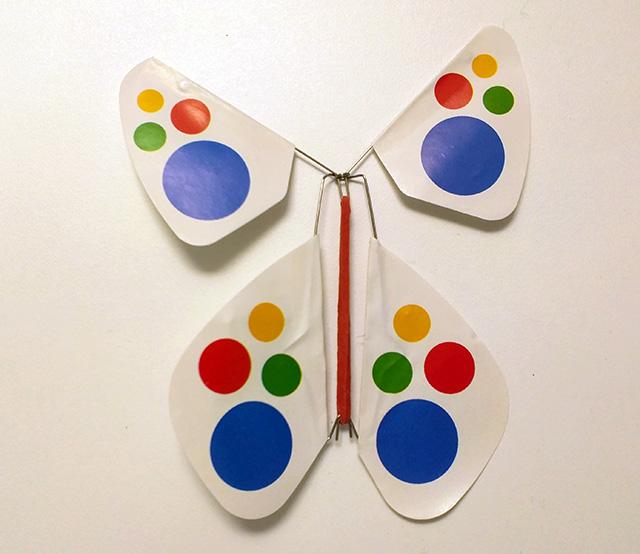 A Google Butterfly