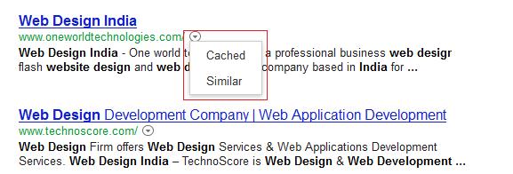 Cache & Similar UI