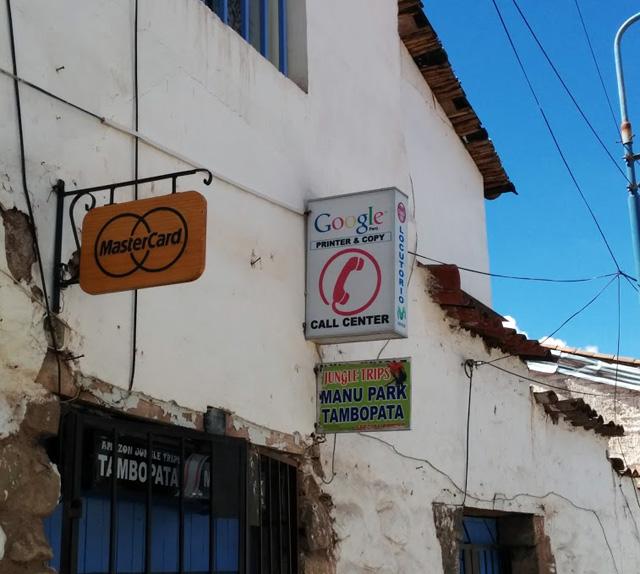Google Cusco, Peru