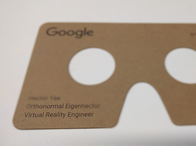 Google cardboard business cards colourmoves