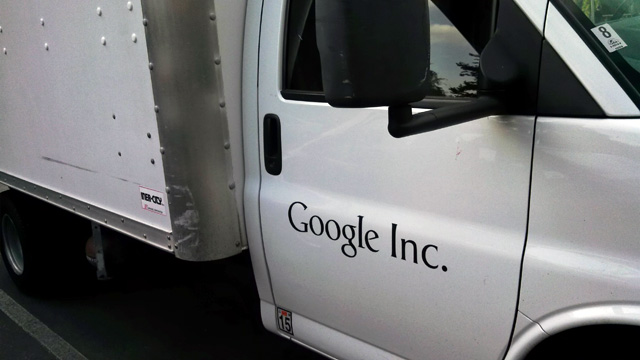Google Cargo Truck