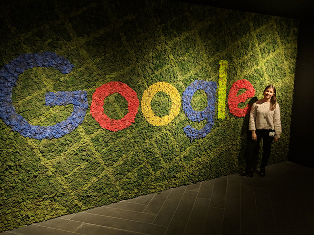 Google Melbourne Carpet Logo Wall