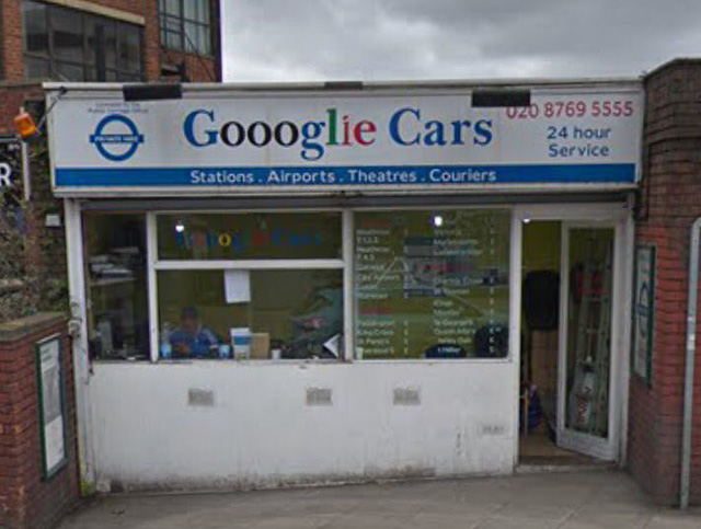 Gooogle Cars Shop Rebranded