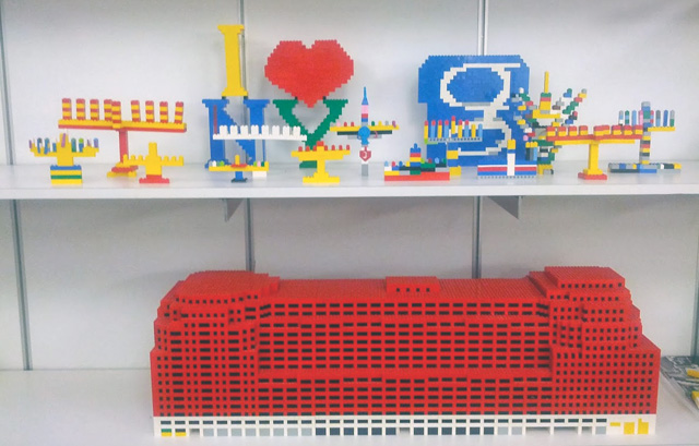 Google: Jewglers Google LEGO Menorahs