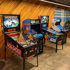 Arcade Room at Google Chicago