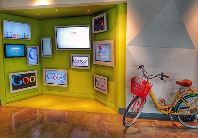 Google Chile Office Lobby