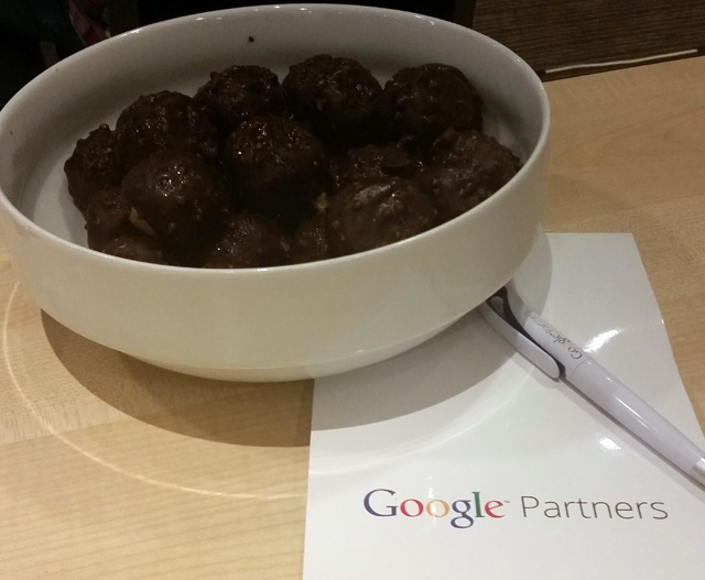 Google Chocolate Balls
