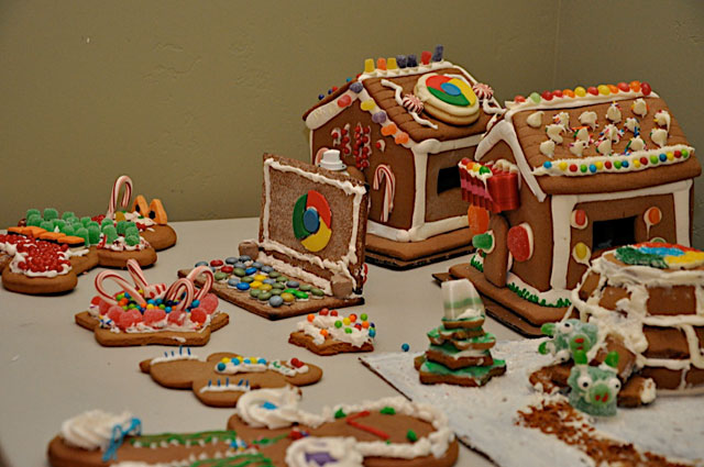 Google Gingerbread World