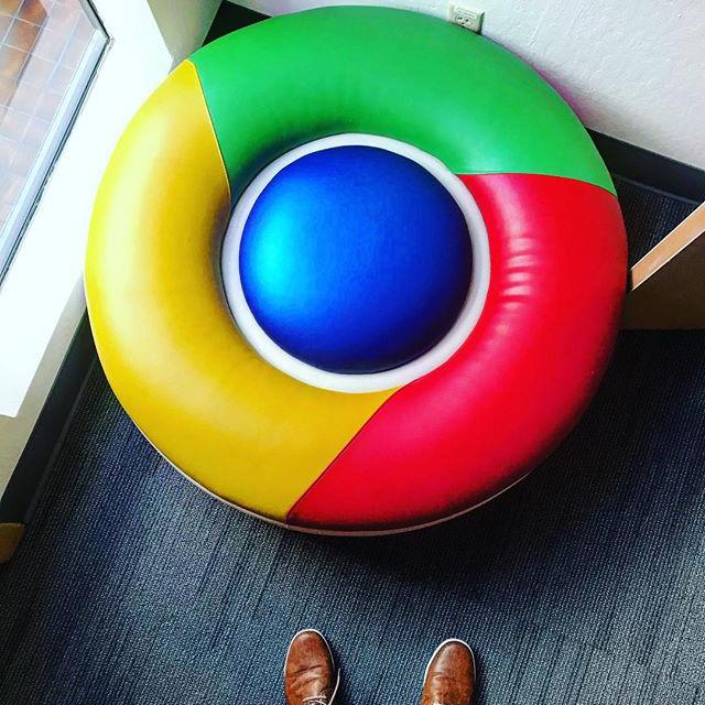 Google Chrome Chair