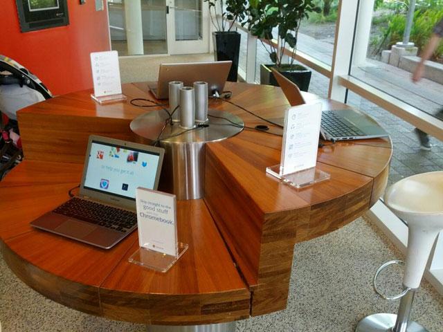 Google Lobby Chromebooks