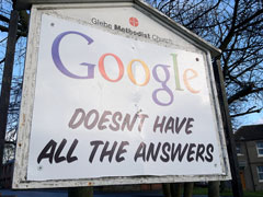Google Church Answers