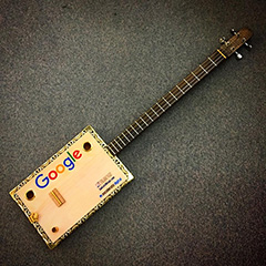 Google Cigar Box Guitar
