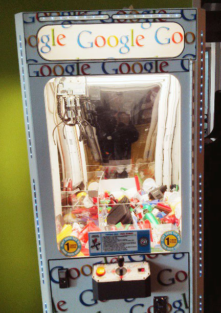 Google's Claw Crane Game