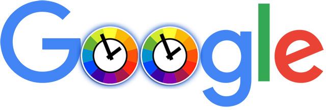 google clock logo