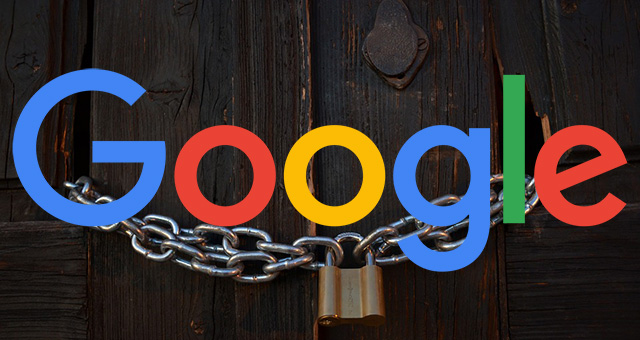 Google Closed Locked