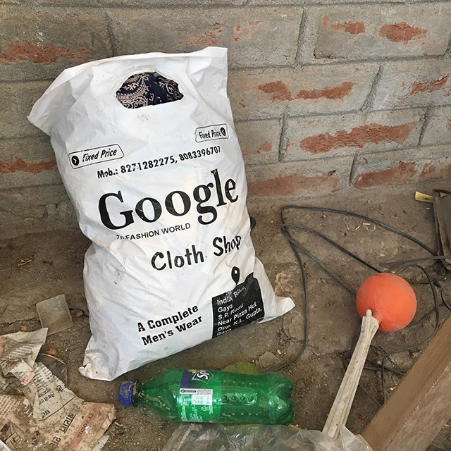 Google Cloth Shop Bag