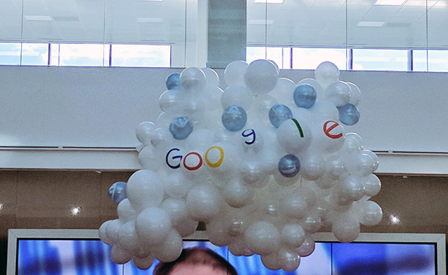 Google Cloud Balloons