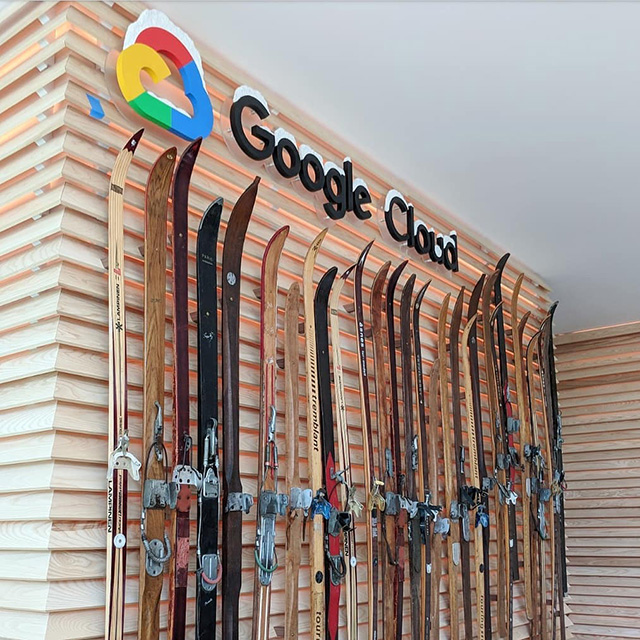Google Cloud Ski Rack