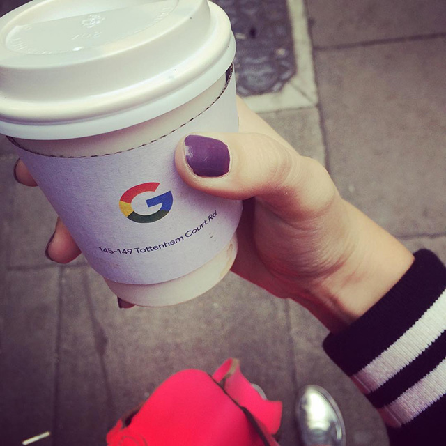 Google Coffee Cup Sleeve
