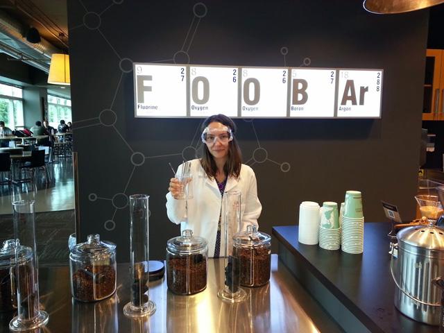 Google Coffee FOOBAr Lab