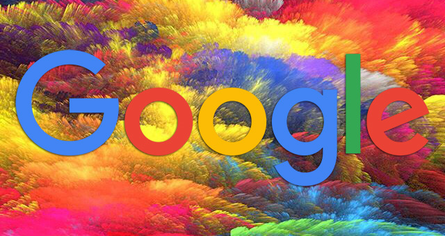 google colorful clouds
