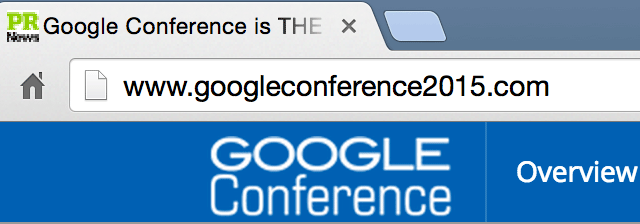 GoogleConference2015.com Not Google Owned, Despite Googlers Speaking