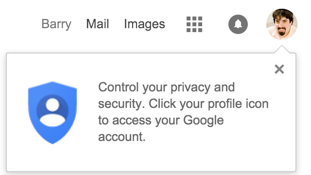 Google To Users: Control Your Privacy & Security