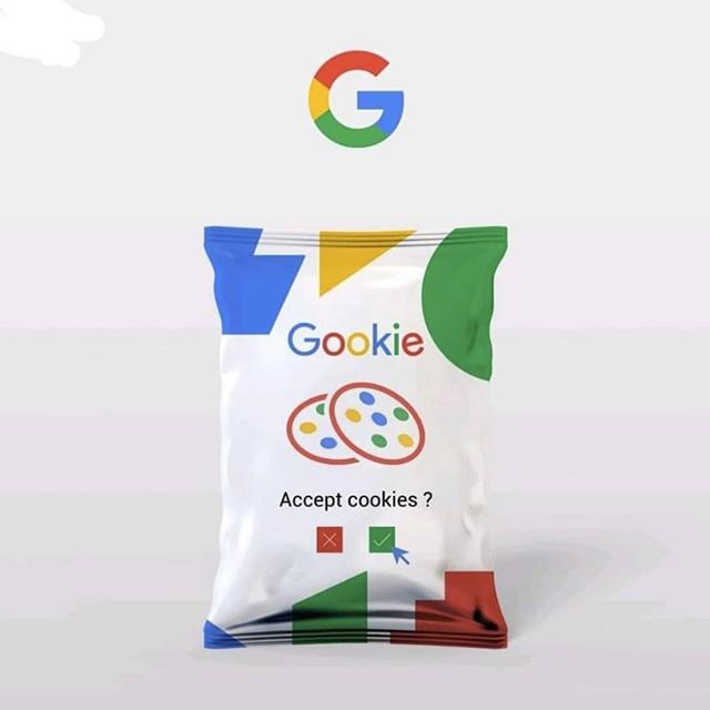 Google Cookies Bag