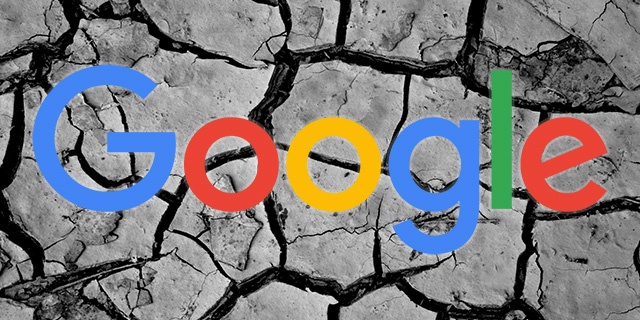 google cracked ground stress