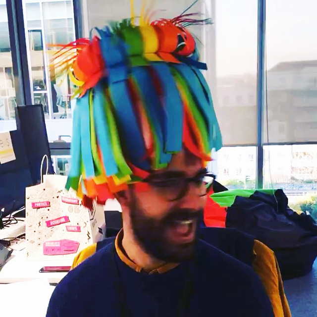 Google Crazy Hat Day