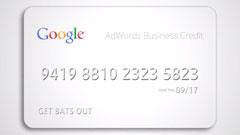 AdWords Credit Card