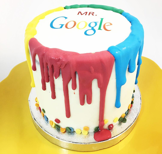 Scary & Creepy Google Cake