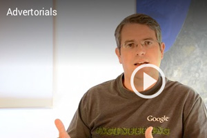 Matt Cutts Google Advertorials