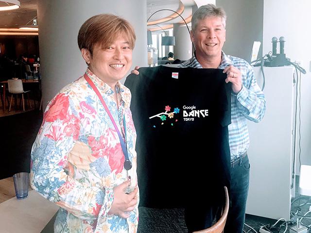 Danny Sullivan Gets A Google Dance Tokyo Shirt In Japan
